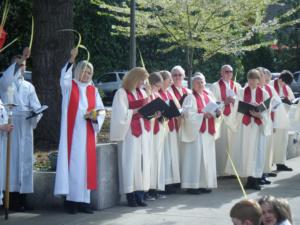 palm sunday choir christie