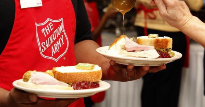 Community Meals at the Salvation Army Center, Crossroads